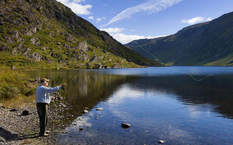 Glenbeg Lake a short walk from Beara Coast House